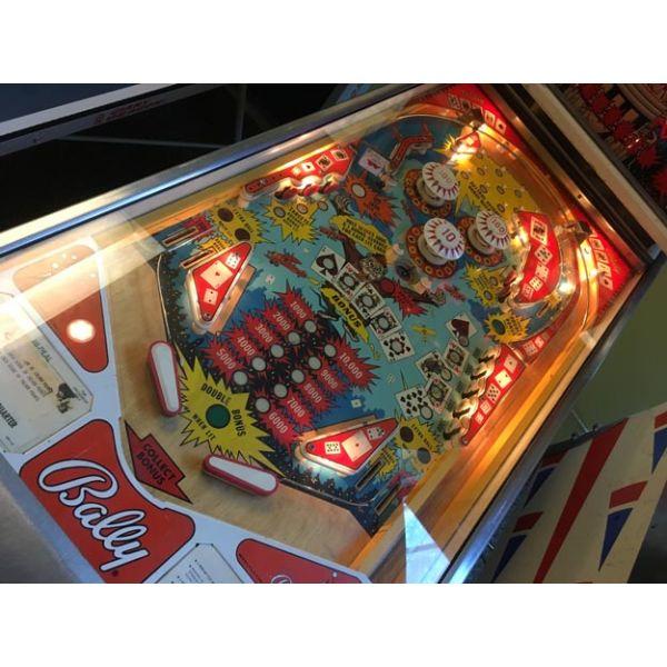 Machine à boules vintage Bally Hi Deal pinball rare fabriquée en 1975 - picture 3
