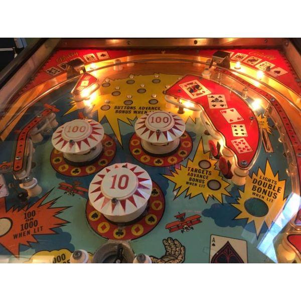 Machine à boules vintage Bally Hi Deal pinball rare fabriquée en 1975 - picture 5