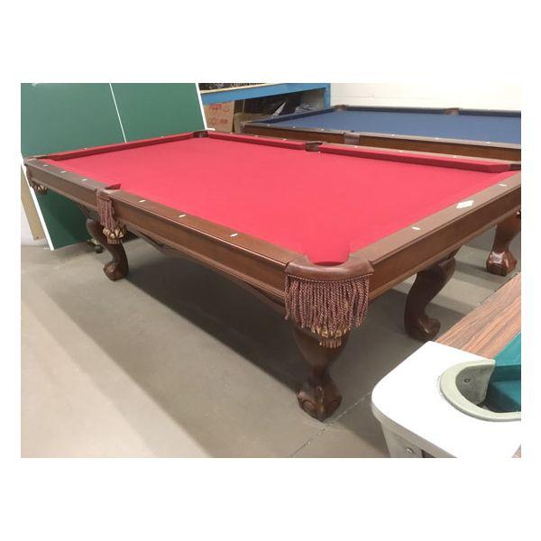 Table de billard Brunswick Broadmoor modèle démonstrateur 4 x 8 neuf - 1
