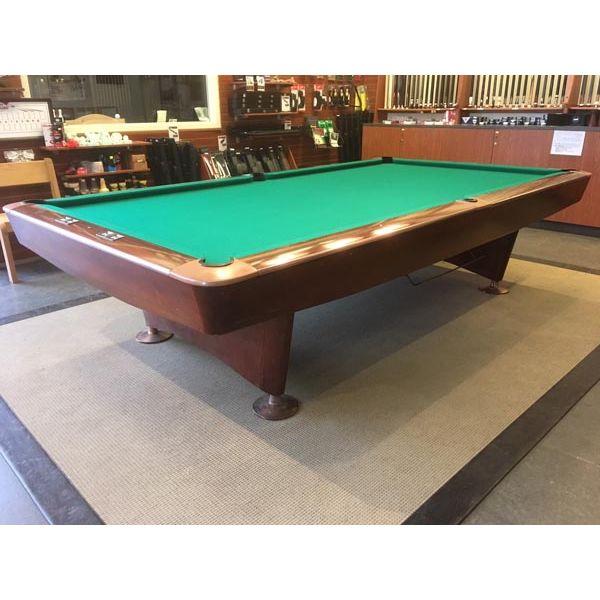 Table de snooker Brunswick Gold Crown 10 x 5 pieds usagée