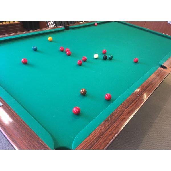 Table de snooker Brunswick Gold Crown 10 x 5 pieds usagée - amg 2