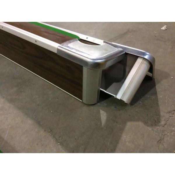 Table de snooker usagée Brunswick Centurion 10 x 5 pieds - 5
