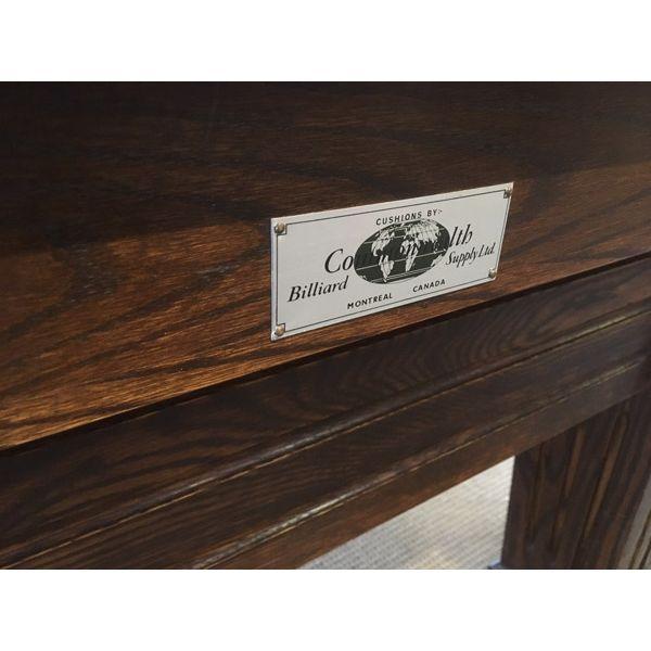 fabriquée au Canada en bois massif et ardoise 1½ pouces - image 1