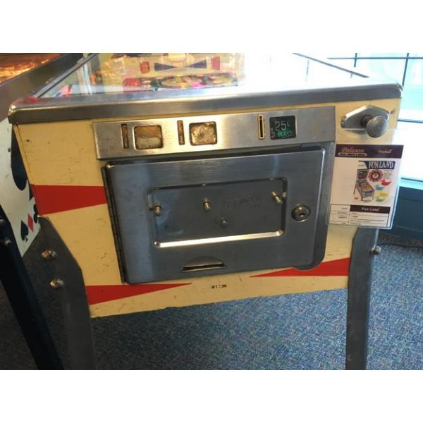 Machine à boules flipper pinball Gottlieb Fun Land 1968 classique rare et antique - 5