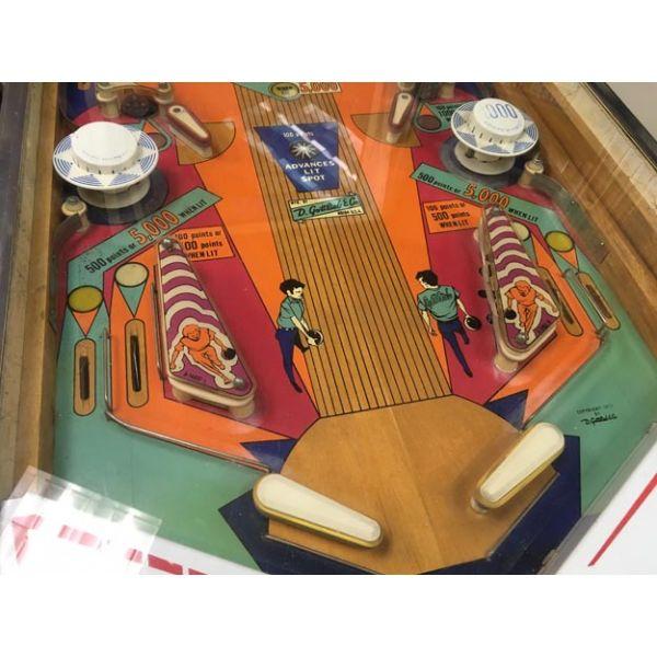 Machine a boules EM Gottlieb King Pin flipper de 1973 jeu antique retro d'arcade rare - photo 6