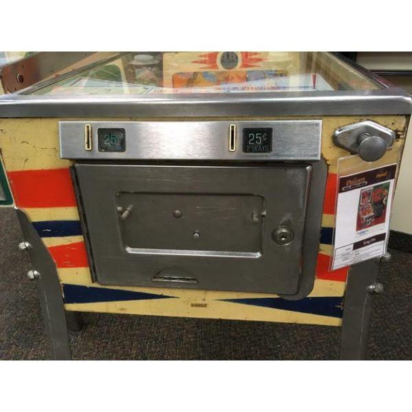 Machine a boules EM Gottlieb King Pin flipper de 1973 jeu antique retro d'arcade rare - photo 9