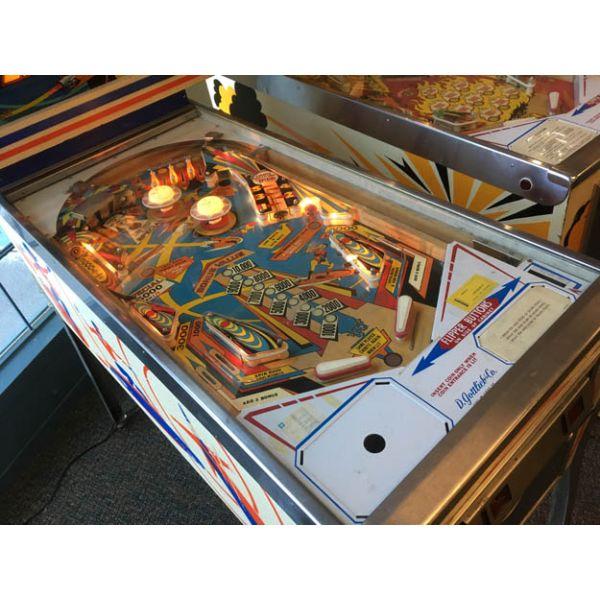 Gottlieb Super Spin pinball machine a boule 1977 classique antique rare - image 3