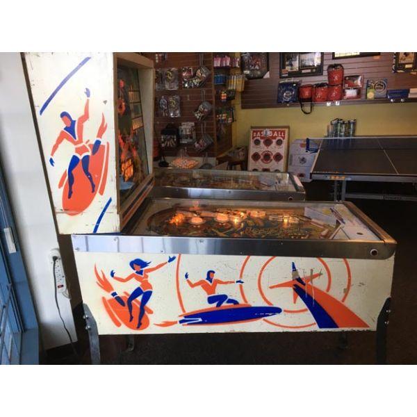 Gottlieb Super Spin pinball machine a boule 1977 classique antique rare - image 4