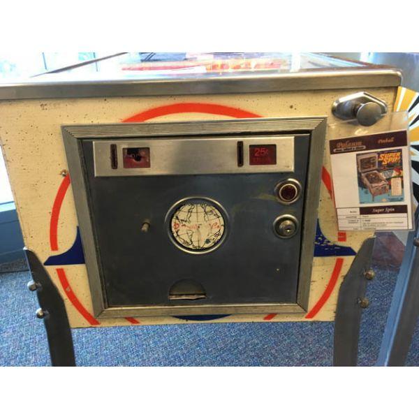 Gottlieb Super Spin pinball machine a boule 1977 classique antique rare - image 10