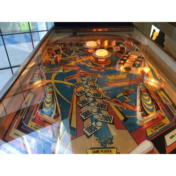 Gottlieb Super Spin pinball machine a boule 1977 classique antique rare - image 6