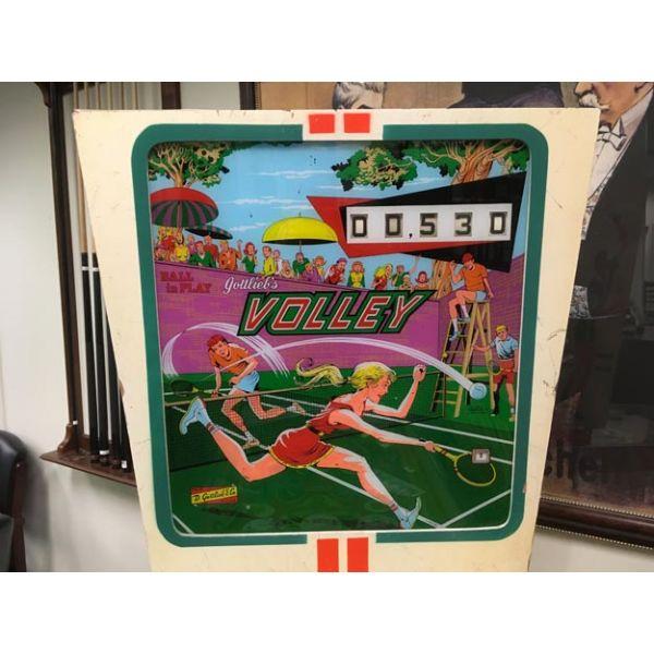Machine à boules antique pinball électro-mécanique flipper EM Gottlieb Volley de 1976 - image 4