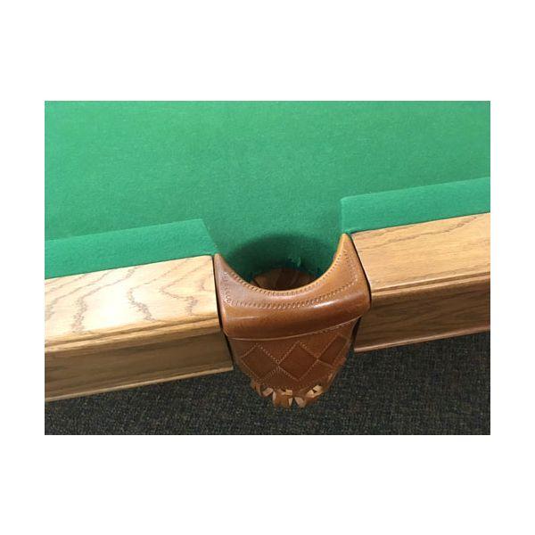 Table de pool Canada Billard usagée seconde main 8 pieds fini moyen avec ardoise véritable - image 6