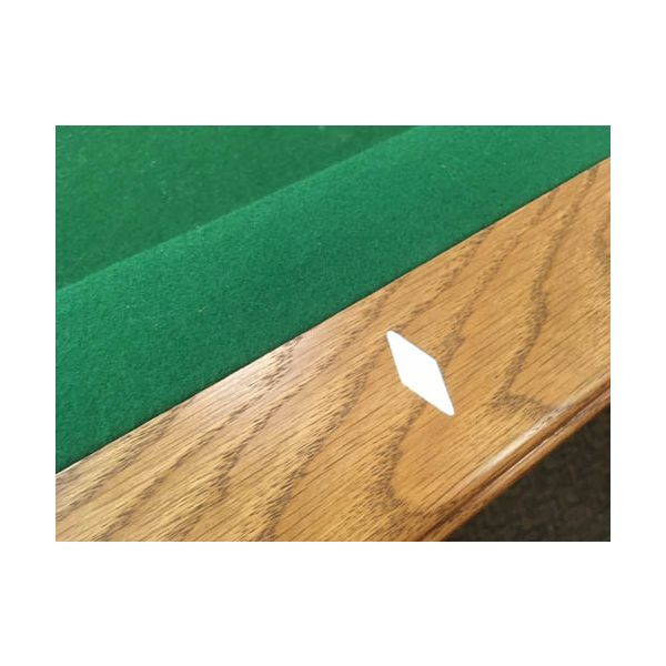 Table de pool Canada Billard usagée seconde main 8 pieds fini moyen avec ardoise véritable - image 3