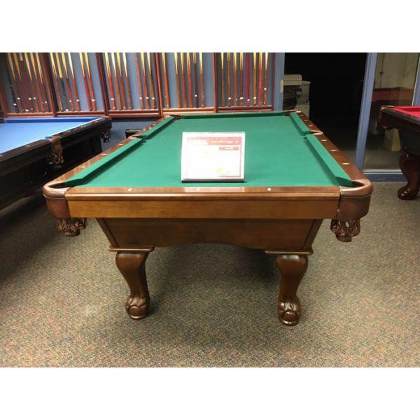 Table de billard modèle démonstrateur de plancher en bois massif et laminé avec ardoise véritable - Image 2