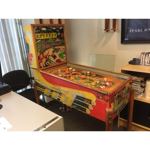 Machine à boules pinball Williams Struggle Buggies 1953 woodrail vintage antique rare pin balle wood rail - image 1