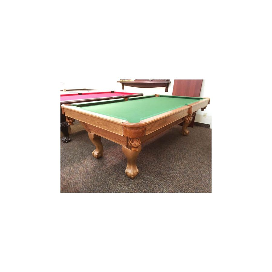Table De Pool Canada Billard Usagée Seconde Main 8 Pieds Fini Moyen Avec  Ardoise Véritable
