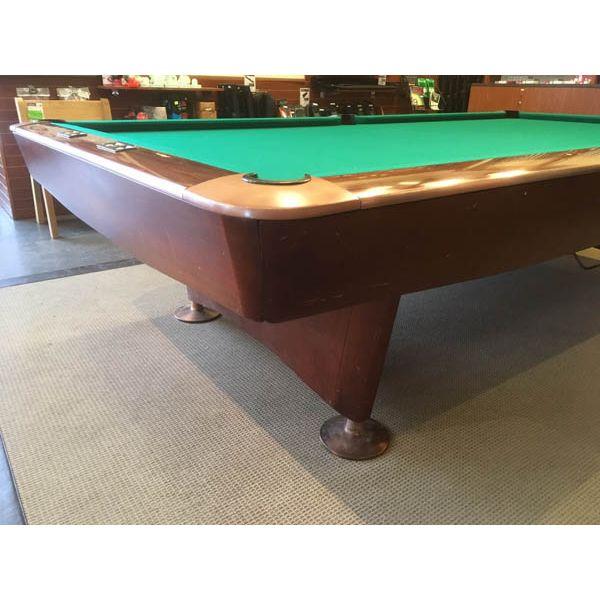 Table de snooker Brunswick Gold Crown 10 x 5 pieds usagée - amg 3